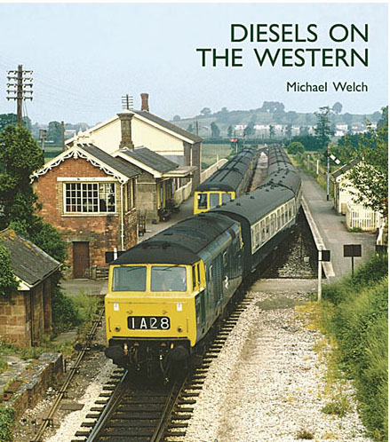 Capital Transport Publishing Diesels on the Western by Michael Welch  9781854143679