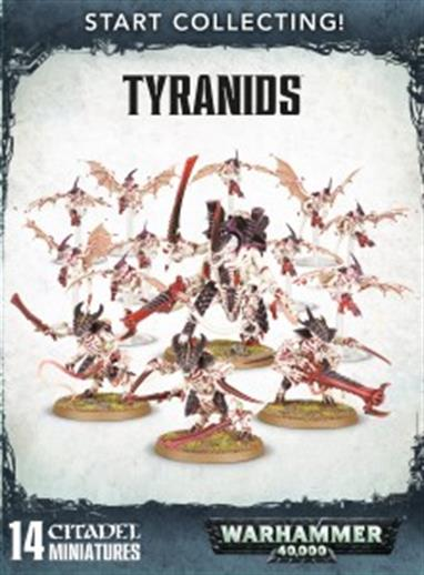 This is a great-value box set that gives you an immediate collection of fantastic Tyranid miniatures, which you can assemble and use right away in games of Warhammer 40,000!