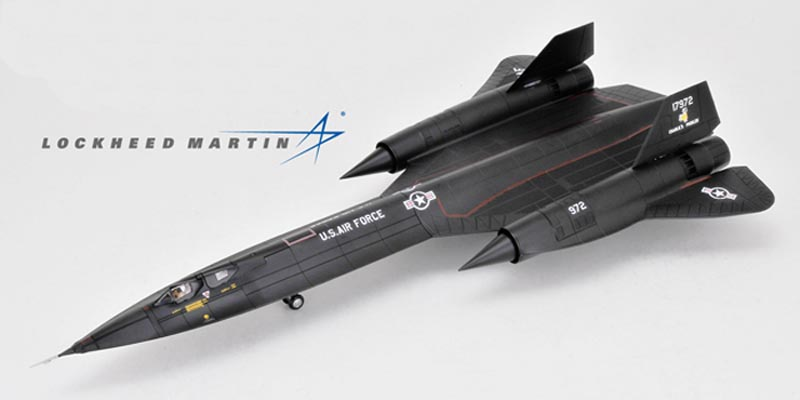 "Century Wings CW 001625 SR71 Blackbird Strategic Recon Die-cast Aircraft Model<br><span class=""yui-non"">One of the most Awesome aircraft ever! the SR-71A Blackbird</span><br>"