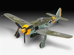 Revell 1/72 Focke Wulf FW190 F8 WW2 Fighter Kit 03898Length 123mm  Number of Parts 46 Wingspan 145mmGlue and paints are required to assemble and complete the model (not included)