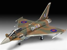 Revell 1/72 100 Years RAF: Eurofighter Typhoon 03900Number of Parts 65 Length 222mmGlue and paints are required
