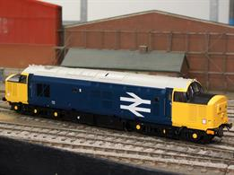 Detailed O gauge model of the refurbished class 37 locomotives fitted with electric train supply (heating) in the mid 1980s for service on the North of Scotland and Welsh Borders routes, as the last of the steam heated coaches were withdrawn. The locomotives were released in the then current large logo blue livery carried by this model.