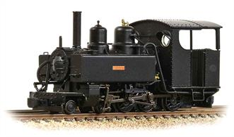 Detailed model of the Ashover Light Railways Baldwin 4-6-0 tank locomotive Bridget.One of a number of Baldwin locomotives purchased by the Clay Cross company for the Ashover line Bridget is finished in black livery.