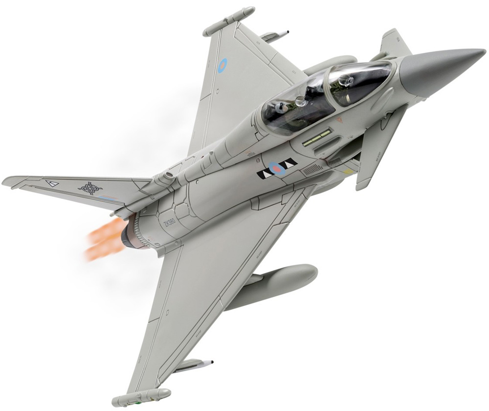 "Corgi 1/72 Eurofighter Typhoon T3 ZK380 II(AC) Squadron - 100 Years of the RAF AA36409<br><span class=""yui-non"">2018 Range</span>"
