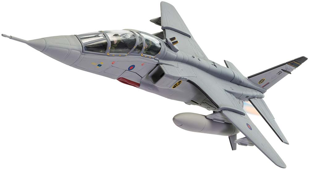 "Corgi AA35415 1-72 Scale Jaguar T.4 XX838 No16 (R) Squadron Coltishall - 100 Years of the RAF<br><span class=""yui-non"">2018 Range</span><br>"