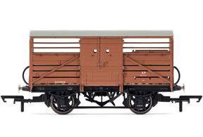 BR Cattle Wagon Diagram 1529 S53908Dimensions - Length 90mmPeriod 1940's
