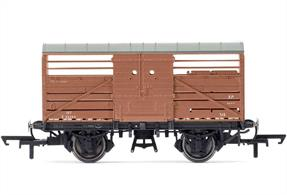 BR Cattle Wagon Diagram 1530 S52345Dimensions - Length 90mmPeriod 1940's
