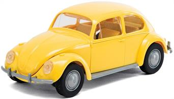 Airfix Quickbuild VW Beetle Yellow Clip together Block Model J6023Airfix QUICK BUILD is an exciting range of simple, snap together models suitable as an introduction to modelling for kids (ages 5 and up), or as a bit of construction fun for the more experienced modeller.
