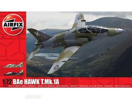 Airfix A03085A 1/72nd BAE Hawk T.1 Aircraft KitNumber of Parts 59 Length 163mm Wingspan 130mm