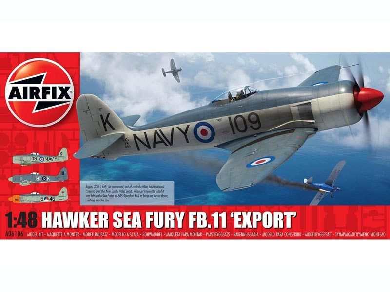 Hawker Sea Fury FB.11 Export Edition Fighter Aircraft Kit