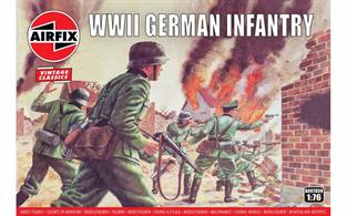 Airfix 1/72 WWII German Infantry Figures A00705Number of Figures 48
