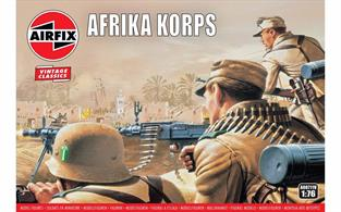 Airfix 1/72 WWII Afrika Corps Figure Kits A00711Number of Figures 48