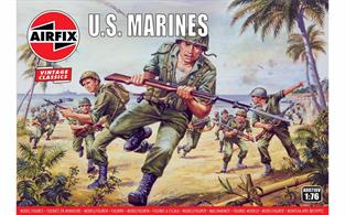 Airfix 1/72 WWII US Marines Figure Kits A00716Number of Figures 46