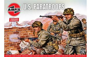 Airfix 1/72 WWII US Paratroops Figures A00751Number of Figures 48