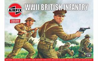 Airfix 1/72 WWII British Infantry N. Europe Figure Kits A00763Number of Figures 48