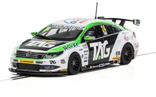 Scalextric 1/32 VW Passat CC NGTC Team Hard BTCC 2017 Jake Hil C3918