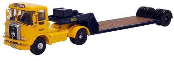 Oxford Diecast 1/76 76ATK004 Atkinson Borderer Low Loader NCB Mines Rescue