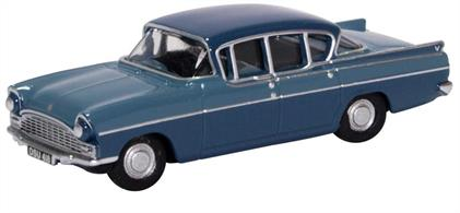 Vauxhall Cresta Moonlight Blue/Bermuda Blue