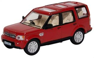 Land Rover Discovery 4 Firenze Red