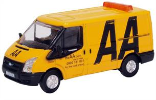 Oxford 76FT033 Ford Transit AA Model