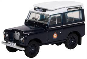 Oxford Diecast 76LR2AS004 Land Rover Series II Hong Kong Police