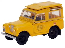 Land Rover Series II SWB Hard Top Post Office Telephones Yellow