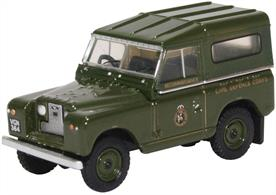 Land Rover Series II SWB Hard Back Civil Defence