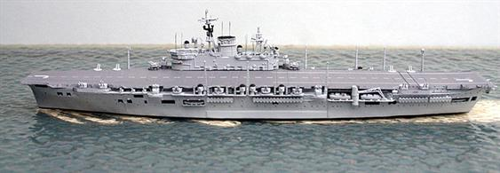 Royal Navy Aircraft Carrier HMS Eagle as in 1954