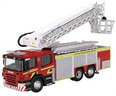 Oxford Diecast Scania ARP Scottish Fire & Rescue 76SAL006
