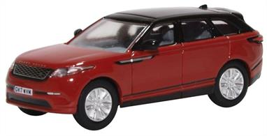 Oxford Diecast 76VEL001 1/76th Range Rover Velar Firenze Red