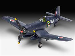 Revell 03917 1/72 Scale F4U-1B Corsair Royal NavyLength 148mm Number of Parts 61 Wingspan 169mmGlue and paints are required