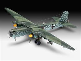 Revell 03913 1/72 Scale Heinkel He177 A-5 GriefLength 303mm    Number of Parts 234    Height 80mm     Wingspan 432mmGlue and paints are required