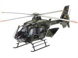 Revell 1/32nd 04982 Eurocopter EC135 Heeresflieger/German Army Helicopter KitNumber of Parts 260    Length 390mm