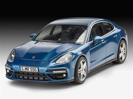 Revell 67034 1/24 Scale  Porsche Panamera Turbo Model SetLength 221mm	Number of Parts 98Comes complete with Glue and paints.