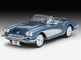 Revell 67037 1/25 Scale Corvette Roadster Model SetLength 178mm	Number of Parts 137Comes with Glue and Paints