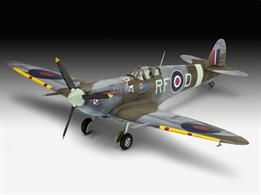 Revell 63897 1/72 Scale Supermarine Spitfire Mk. Vb Model SetLength 127mm    Number of Parts 42   	Wingspan 155mmSupplied with glue and paints to assemble and complete the model