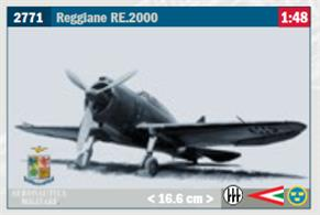 Reggiane RE.2000 Fighter Aircraft KitGlue and paints are required to assemble and complete the model (not included)Price to be Advised