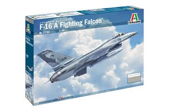 F-16A Fighting Falcon Aircraft KitGlue and paints are required