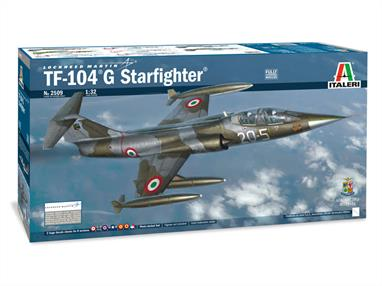TF-104G AM + NATO Aircraft KitLength 520mmGlue and paints are required to assemble and complete the model (not included