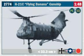 H-21 Flying Banana Gunship Kit