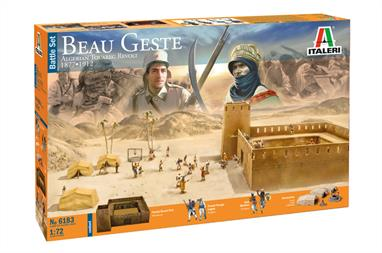 Beau Geste: Algerian Tuareg Revolt 1877/1912 Battle SetGlue and paints are required to complete the figures (not included)