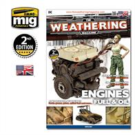 MIG Productions 4503 Weathering Guide 3 - Engines, Fuel & OilA very useful guide illustrating various methods of weathering engines and depecting oil and fuel spills  giving your models a realistic and satisfying appearance