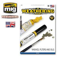 MIG Productions 4516 Weathering Guide 17 - Washes, Filters & OilsA very useful guide illustrating various methods of weathering and detailing models of all kinds.