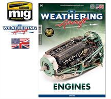 MIG Productions 5203 Weathering Aircraft - EnginesA very useful guide illustrating various methods of weathering and detailing various engines, appling grease stains oil spills etc giving your models a realistic and satisfying appearanceCovers both jet and piston engines with full colour illustrations