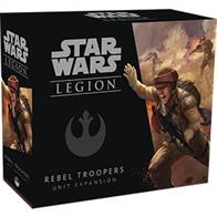 The Rebel Troopers Unit Expansion features a full unit of seven Rebel Trooper miniatures, identical to the Rebel Troopers included in the Star Wars: Legion Core Set. This expansion also includes the unit card and an assortment of upgrade cards, inviting you to kit out your Rebel Troopers for any battlefield scenario.