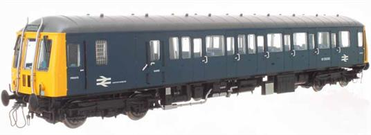 A highly detailed O gauge model of the Gloucester RCW built single car BR class 122 diesel multiple unit trains. 20 of these double-ended single car units were built in 1958 for branch lines with light off-peak traffic and frequent shuttle services services. Initially allocated to the Western region the class later dispersed across the country,
