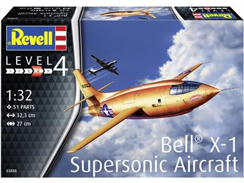 Revell 03888 Bell X-1 First Supersonic Aircraft Model Kit