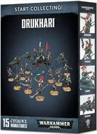 This is a great-value box set that gives you an immediate collection of fantastic Drukhari miniatures, which you can assemble and use right away in games of Warhammer 40,000!
