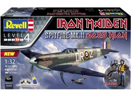 Revell 05688 Spitfire MkII Iron Maiden Aces High Gift Set