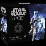 No matter how dangerous the freezing temperatures on a planet, you'll find that your Snowtroopers are equipped to handle the killing cold with ease. Within the Snowtroopers Unit Expansion for Star Wars™: Legion, you'll find seven unpainted Snowtrooper miniatures, inviting you to field these troopers as a single unit and combat the Rebellion in even the most hostile and adverse environments. Alongside these Snowtroopers, you'll find an assortment of upgrade cards, inviting you to kit out your Snowtroopers for whatever you expect to face on the field of battle.